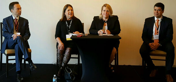 Evelyn Suarez Moderates Panel for GetGlobal 10-21-16